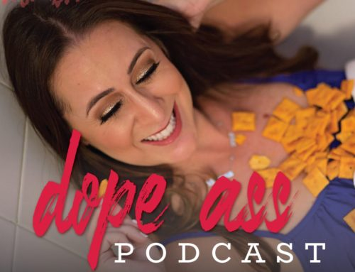 Just Chillin on The Dope Ass Podcast with Andrea Levoff!
