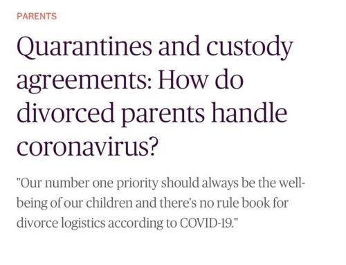 How Divorced Parents Handle Custody and Coronavirus – TODAY PARENTS