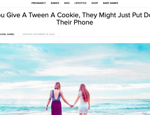 If You Give A Tween A Cookie, They Might Just Put Down Their Phone